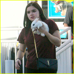 Ariel Winter Gets a Bunny From Levi Meaden for Her Birthday!
