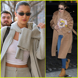 Bella Hadid Bares Her Midriff Shopping in Milan!
