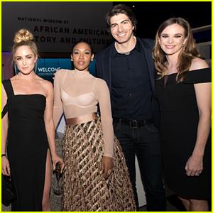 Candice Patton, Danielle Panabaker & Caity Lotz Celebrate 'Black Lightning' Premiere in D.C.