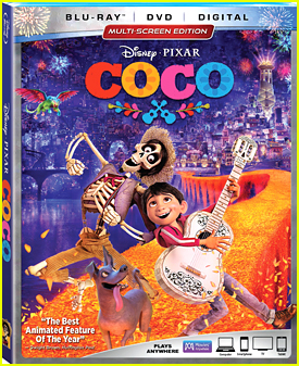 Disney's New Film 'Coco' Comes To Bluray & DVD in February!