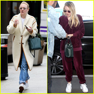 Dakota Fanning Heads Back to School After Her Eventful Weekend!