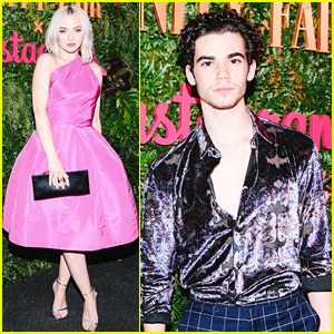 'Descendants' Stars Dove Cameron & Cameron Boyce Party It Up Before the Globes!