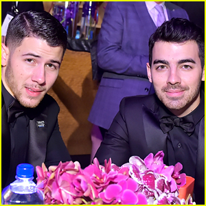 Joe Jonas Was His Brother Nick's Golden Globes Date!