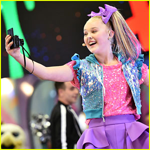 JoJo Siwa Takes The Stage at NFL Play 60 Kids Day During Super Bowl Week