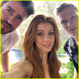Katherine McNamara Makes Fans Go Crazy After Sharings Snap From St. Lucia With 'Shadowhunters' Co-Star Will Tudor