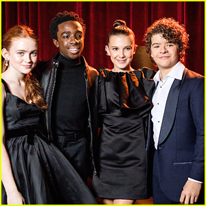 Millie Bobby Brown Joins 'Stranger Things' Co-Stars at Netlfix's Golden Globes 2018 After Party!