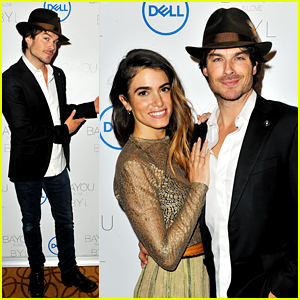 Ian Somerhalder Writes Sweetest Note About Nikki Reed at Her Jewelry Launch!