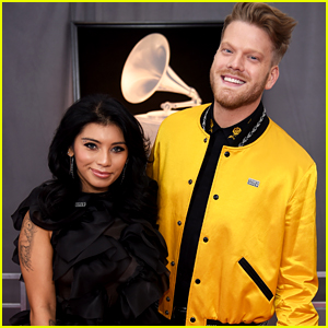 Pentatonix's Kirstin Maldonado & Scott Hoying Step Out at Grammys 2018 Together