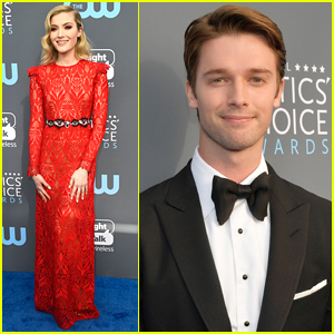 Skyler Samuels Joins Patrick Schwarzenegger at Critics' Choice Awards 2018!