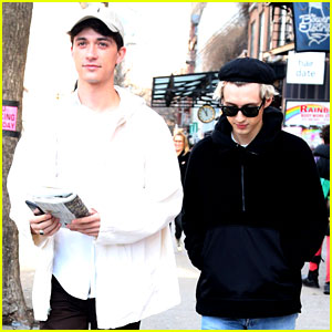 Troye Sivan & Jacob Bixenman Couple Up for Afternoon Stroll