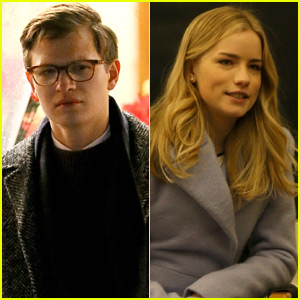 Ansel Elgort & Willa Fitzgerald Begin Filming 'The Goldfinch' in NYC
