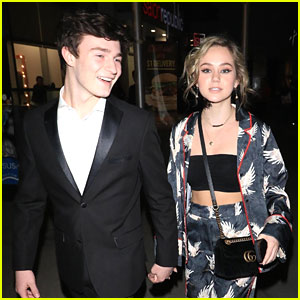 Brec Bassinger & Dylan Summerall Hold Hands After 'The Female Brain' Premiere