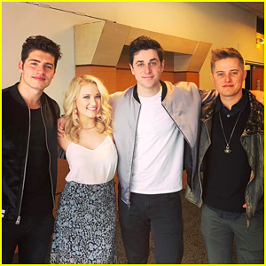 David Henrie, Emily Osment, Lucas Grabeel & Gregg Sulkin Have Epic Disney Reunion in Paris