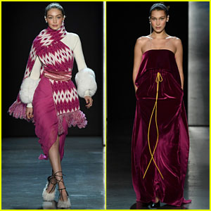 Gigi & Bella Hadid Make a Powerful Statement at Prabal Gurung's NYFW Show