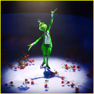 'The Grinch' Dreams Of Becoming The Next Skating Star in Olympic-Themed Promo - Watch Now!