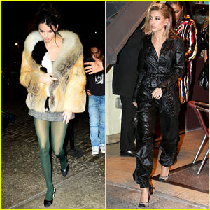 Kendall Jenner & Hailey Baldwin Have Girls' Night Out in NYC