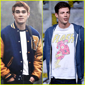 KJ Apa Challenges Grant Gustin's The Flash to a Race, Grant Responds