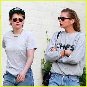 Kristen Stewart Joins Girlfriend Stella Maxwell at the Spa