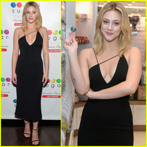 Lili Reinhart Celebrates Her 'Ocean Drive' Cover With Some Sweet Treats!