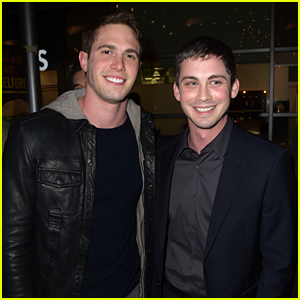 Logan Lerman & Blake Jenner Buddy Up at 'Sidney Hall' Premiere!