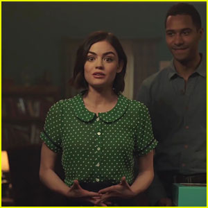 Lucy Hale Tells Her Family She's Cured of Cancer In New 'Life Sentence' Clip - Watch!
