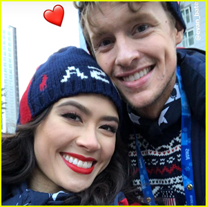 Team USA Ice Dance Skaters Madison Chock & Evan Bates Are Dating
