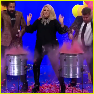 Meghan Trainor Hilariously Films a Music Video at Hyper Speed - Watch!