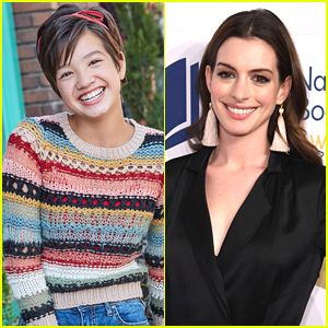 Peyton Elizabeth Lee's Acting Idol Anne Hathaway Pops Up in Tonight's 'Andi Mack'