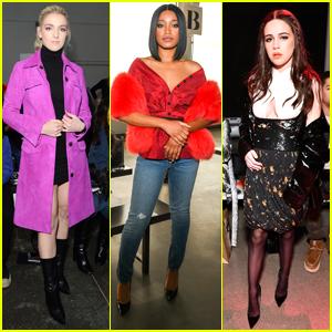 Rydel Lynch, Keke Palmer & Bea Miller Take on Fashion Week in NYC