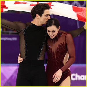 Canada's Tessa Virtue & Scott Moir Play Coy When Asked If They're Dating