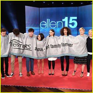 'The Fosters' Cast Dish on Who Stole What From Set on 'Ellen Show'