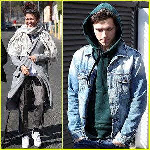 Zendaya & Tom Holland Step Out for Lunch Together