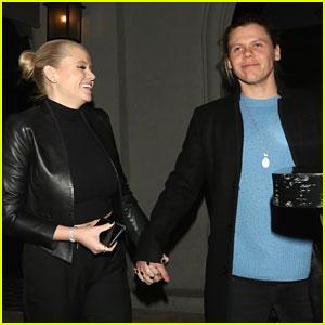 Alli Simpson & Boyfriend Conrad Sewell Hold Hands For Date Night