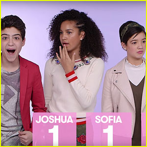 'Andi Mack' Cast Tests Their '90s Trivia Knowledge (Video)