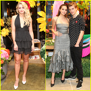 Chloe Lukasiak & Bailee Madison Reunite at Milly's Pop-Up Shop Party