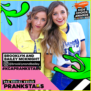 Brooklyn & Bailey Join Nickelodeon For First Ever KCA PrankStars!