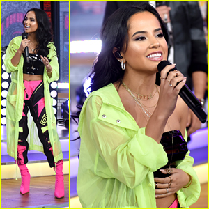 Becky G Brings Mad Love To GMA With Sean Paul David Guetta