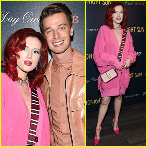 Bella Thorne Goes Pretty in Pink for 'Midnight Sun Screening in NYC