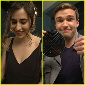 Dilan Gwyn, Burkely Duffield, Jonathan Whitesell & 'Beyond' Cast Try (& Fail) A Frustrating Maze Game (Exclusive)