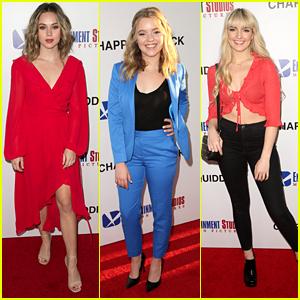 Brec Bassinger Wears Flirty Red Dress to 'Chappaquiddick' Premiere in LA