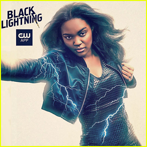 China Anne McClain Really Wants You To Watch 'Black Lightning' Tonight