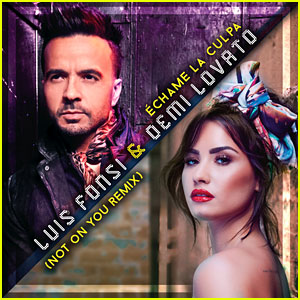 Demi Lovato & Luis Fonsi Drop 'Echame La Culpa (Not on You Remix)' - Listen to the English Version!
