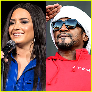 Demi Lovato Covers an Elton John Song with Q-Tip!