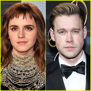 Emma Watson & Chord Overstreet Hold Hands, Look Smitten on a Date!