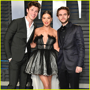 Hailee Steinfeld Hangs Out with Shawn Mendes at Oscars After Party!