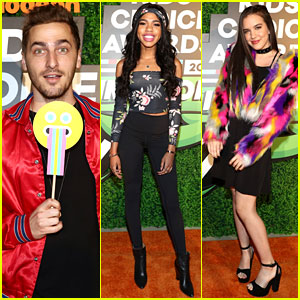Kendall Schmidt, Teala Dunn, Lilimar, & More Team Up for Kids' Choice Awards Slime Soiree!