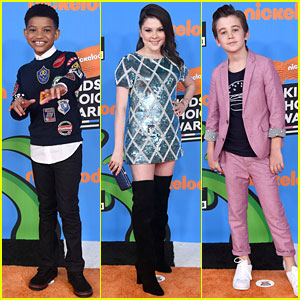 Lonnie Chavis, Hannah Zeile, & Parker Bates Bring 'This Is Us' to Kids' Choice Awards 2018