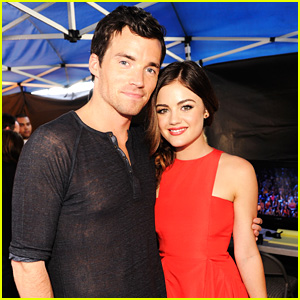 Ezria Lives! Lucy Hale Reunited With Ian Harding In Chicago This Weekend!