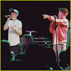 Max & Harvey Kick Off First Show of DigiTour - See the Pics! (Exclusive)