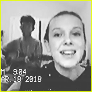 Jacob Sartorius Sings 'Nothin' With You' with Girlfriend Millie Bobby Brown (Video)